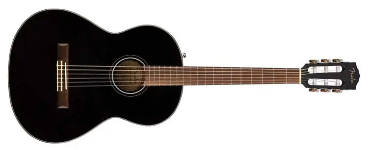 Fender-CN-60S-Black-Front