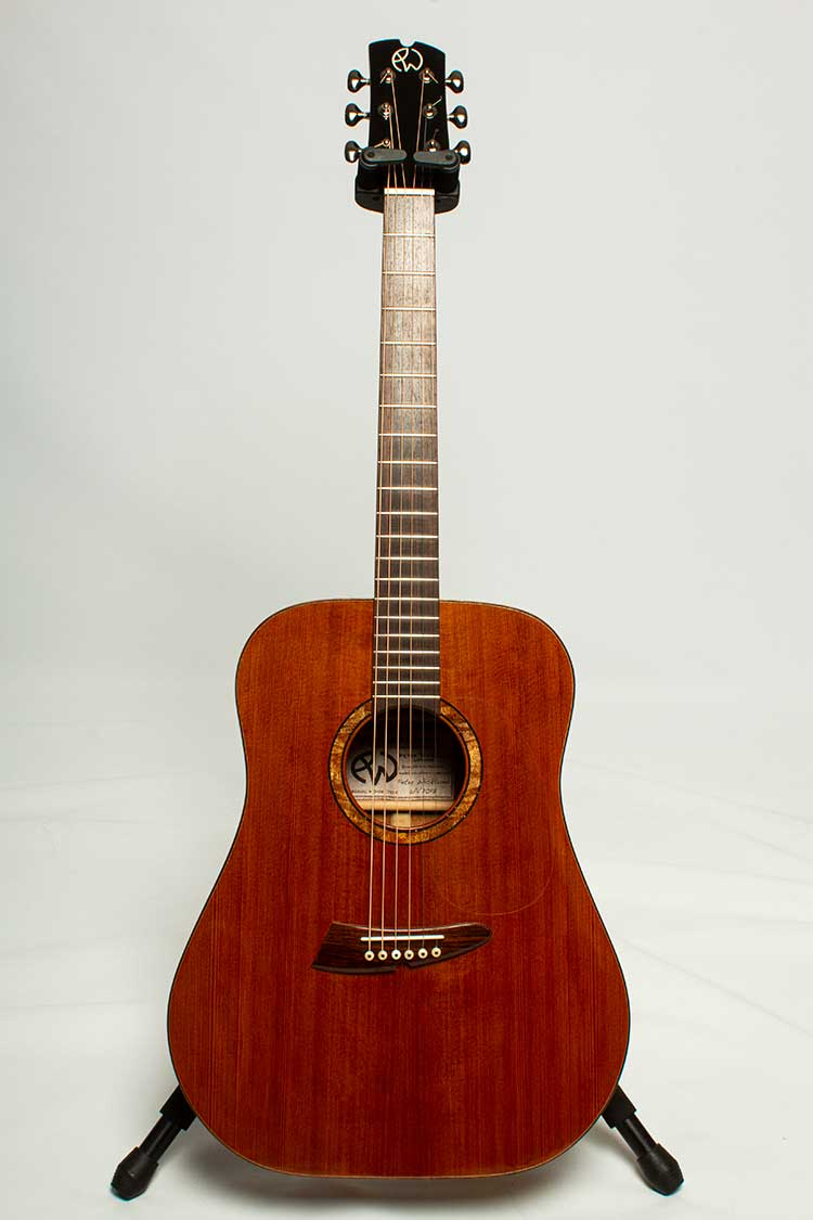 2017 Wicklund DR-16 Dreadnought acoustic guitar