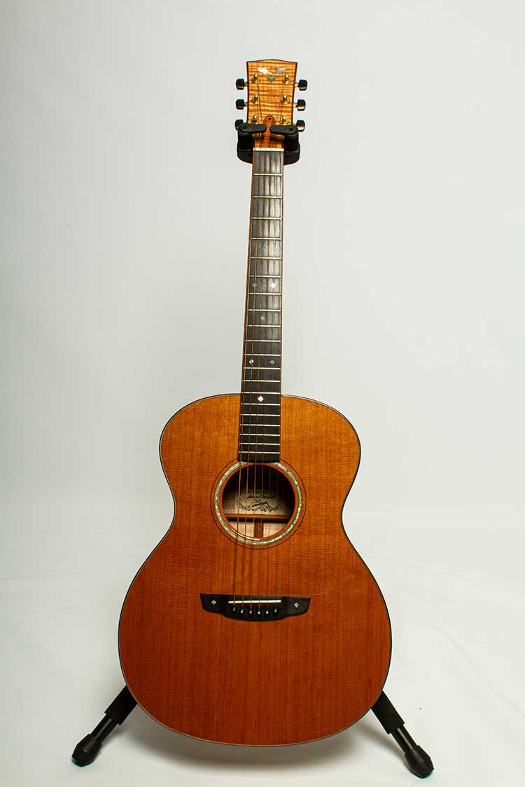 2003 Goodall Concert acoustic guitar