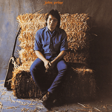 John Prine self-titled album cover