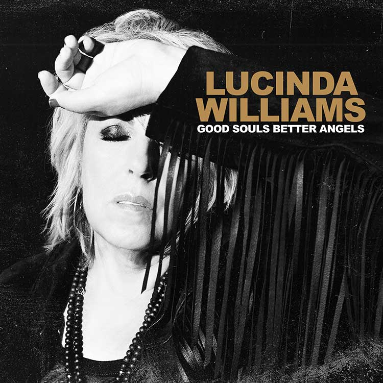 Cover artwork of Lucinda Williams' album Good Souls Better Angels