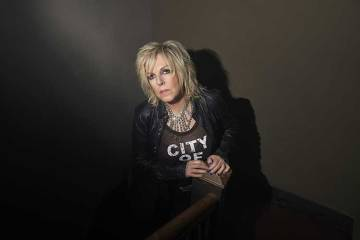 Lucinda Williams portrait by photographer Danny Clinch
