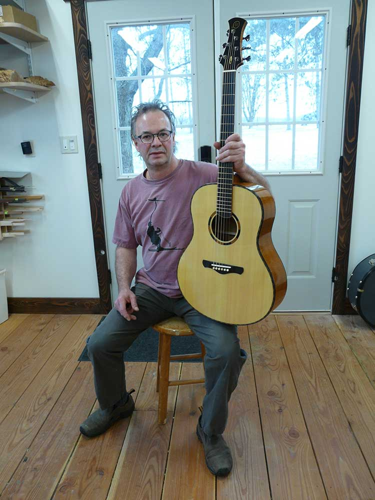 Guitar luthier Randy Muth