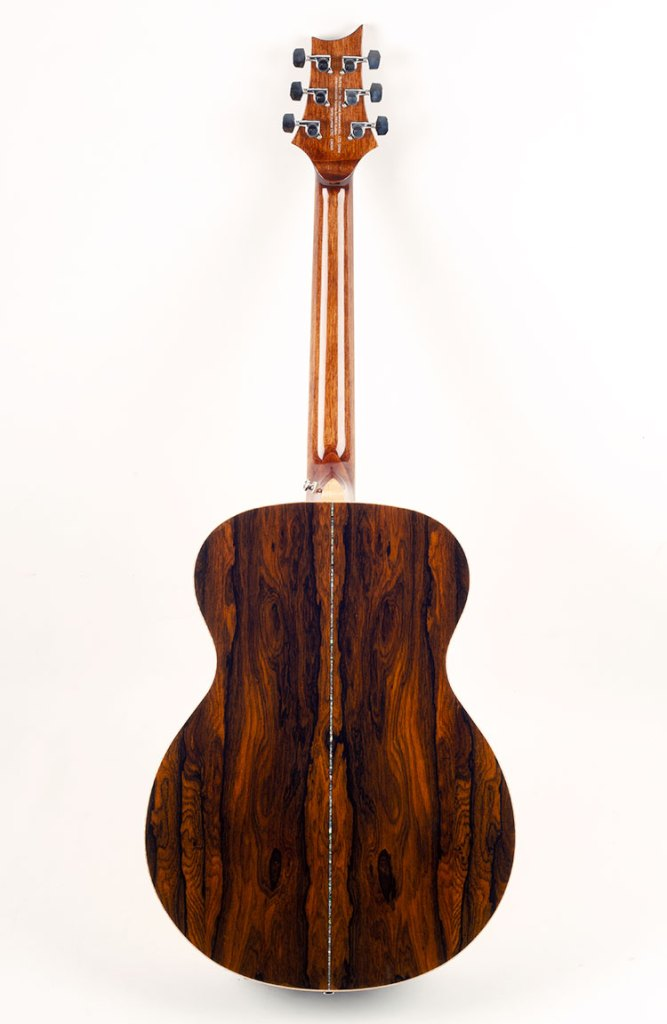 backside of PRS SE T60E guitar