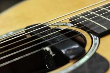 Mojotone Quiet Coil NC-1 acoustic guitar pickup in guitar
