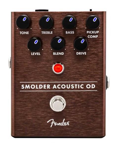 Fender Smolder Acoustic OD overdrive effects pedal