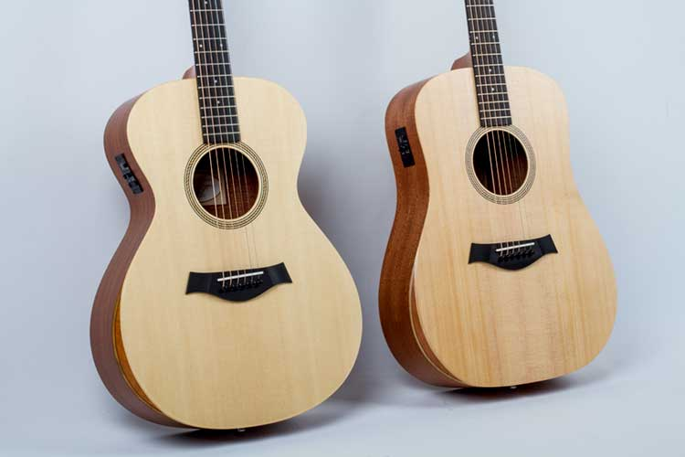 Taylor 10e and 12e Academy Guitars Review – Acoustic Guitar