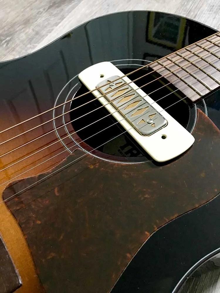 Curtis Novak Magnetic Soundhole Pickup for acoustic guitar
