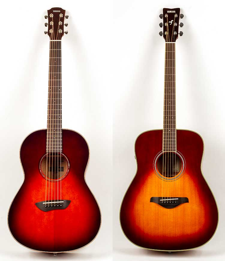 Gear Review Yamaha Csf3m And Fg Ta Acoustic Guitar