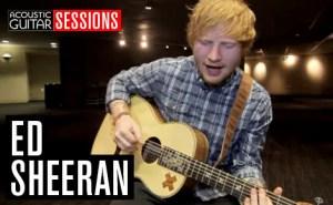 Acoustic Guitar Sessions Presents Ed Sheeran