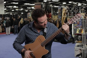 Jeff Gunn Acoustic Guitar Session NAMM 2016