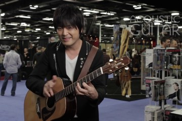 Kotaro Oshio Acoustic Guitar Session NAMM 2016