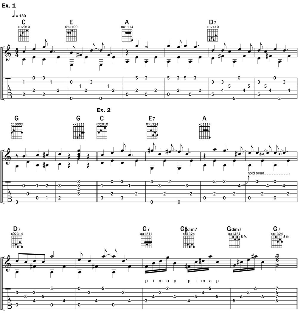 Ragtime Blues Piano