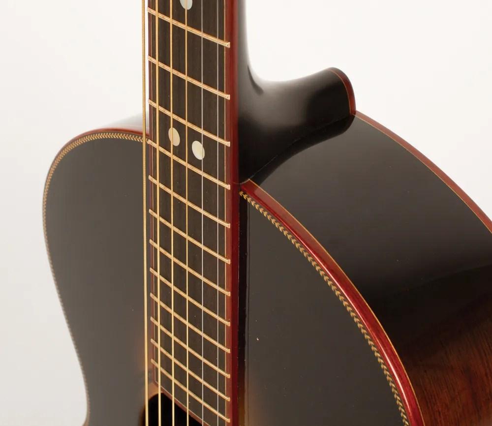 Blues Legend: Big Hollow's Plainsman 00 Acoustic Guitar