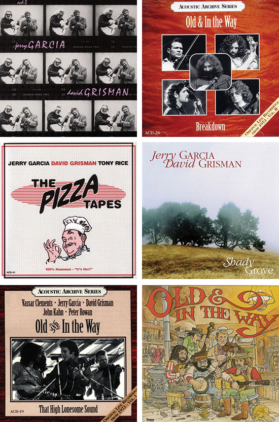 Garcia-Grisman-Albums