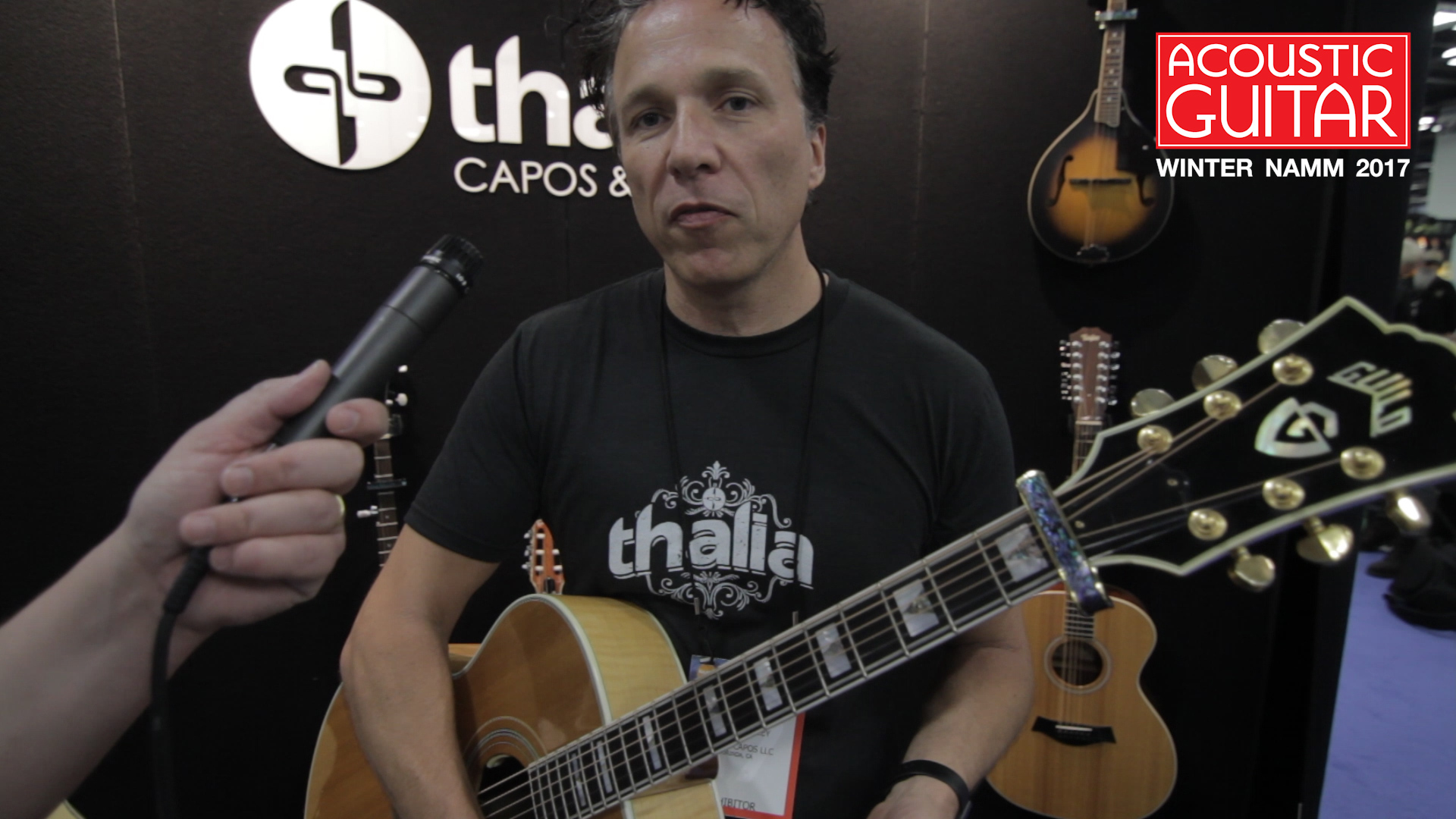 Thalia Introduces New Capo And Exotic Wood Picks At Winter