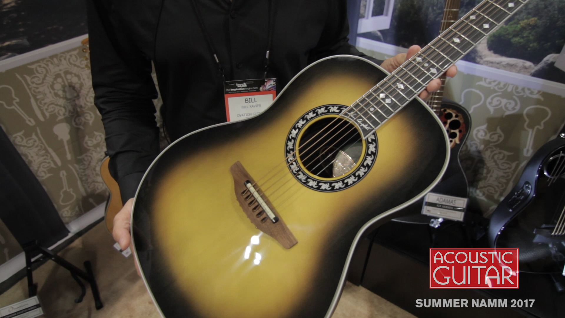 Summer NAMM 2017: Ovation Introduces the Glen Campbell Signature