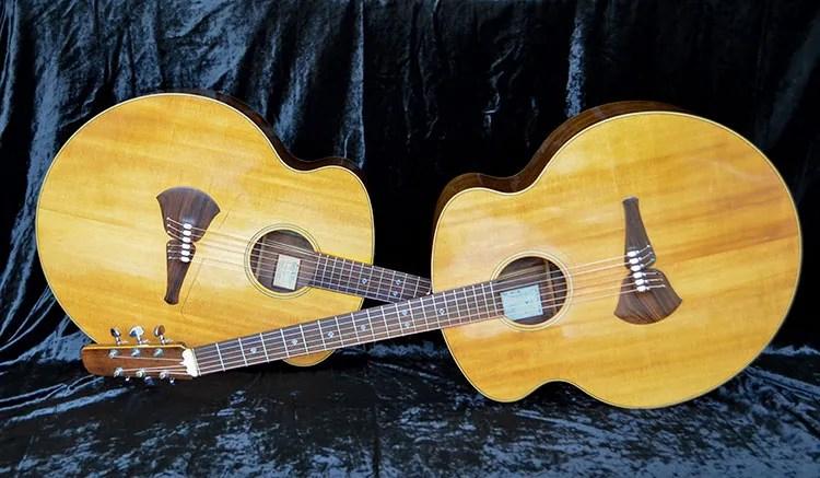 great acoustics twin steve klein l acoustic guitar. Black Bedroom Furniture Sets. Home Design Ideas
