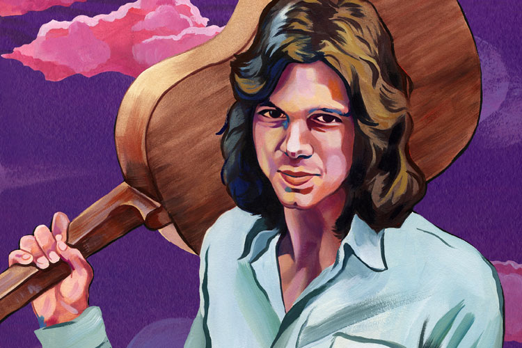Nick Drake-illustration by Olivia Wise