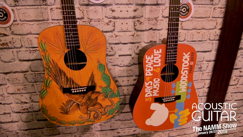 acoustic guitar giveaway 2019 martin celebrates 50th anniversary of woodstock and more 5605