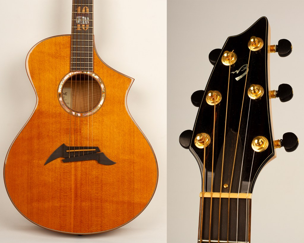acoustic guitar 30th anniversary auction breedlove acoustic guitar