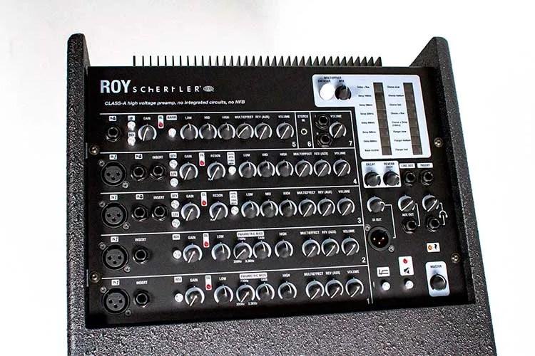 Schertler Roy acoustic guitar amp top