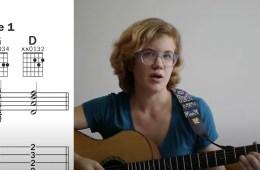 Kate Koenig teaching the G-D chord progression
