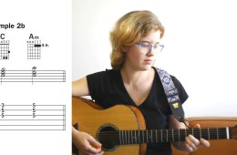 Kate Koenig teaching how to play I–vi Progressions in C and G Major