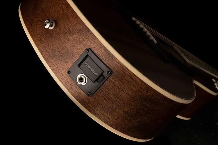 PRS Tonare Parlor SE P20E acoustic-electric guitar output jack