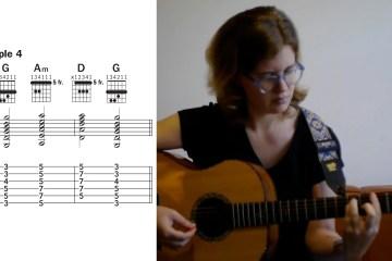 Guitar player Kate Koenig