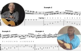 Acoustic guitar scales and modes 2 whole tone and more