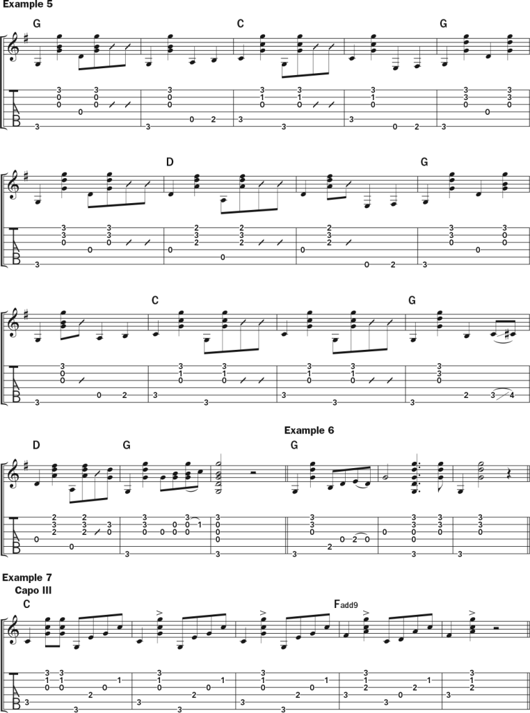 Molly Tuttle Teaches Tony Rice's Distinctive Guitar Style guitar lesson music notation sheet 2
