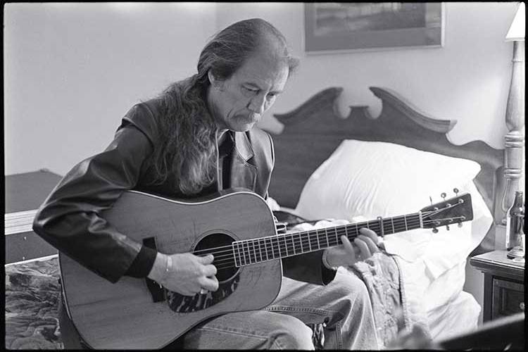 Guitarist Tony Rice