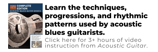acoustic blues guitar basics video lessons