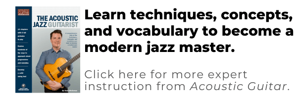 the acoustic jazz guitarist - learn techniques, concepts, and vocabulary to become a modern jazz master