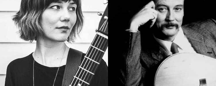 Acoustic guitarists Molly Tuttle and Tony Rice