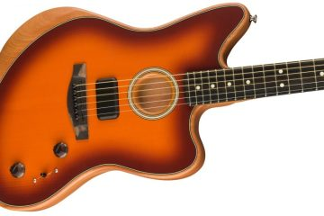 Fender Acoustasonic Jazzmaster body