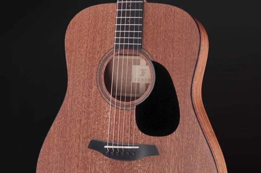 Furch Blue MM acoustic guitar body