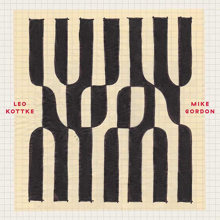 cover art for the album Noon bu Leo Kottke and Mike Gordon