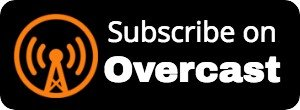 Subscribe on Overcast Logo