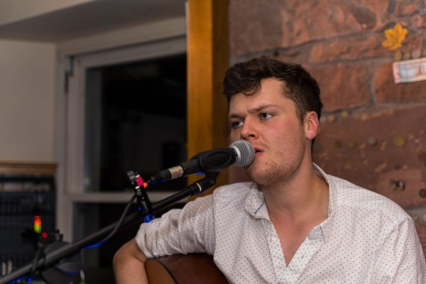 Rob Muir playing in Crofters