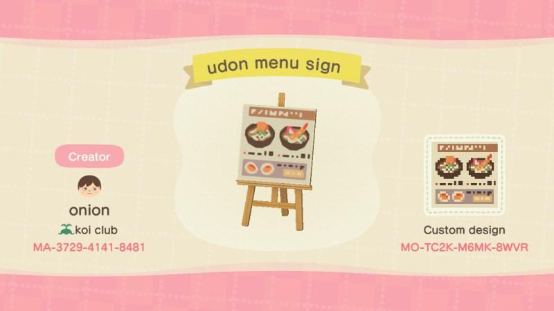 Diner Animal Crossing Pattern Gallery Custom Designs