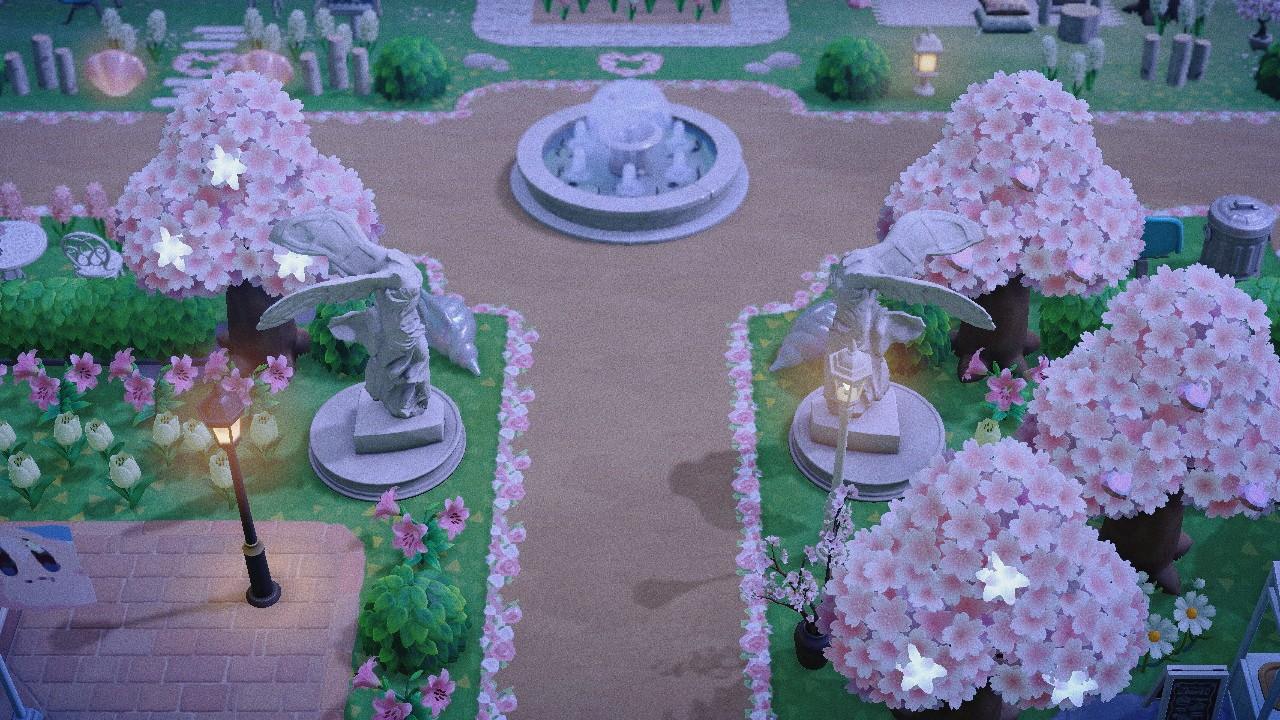 Transparent Floral Border Animal Crossing Pattern Gallery Custom Designs