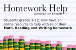 Hopework Help powered by Literati Students grades 3-12 now have an online resource to help with all of their Math, Reading and Writing homework