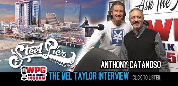 Anthony Catanoso of Steel Pier. WPG Talk Radio 1450 Atlantic City