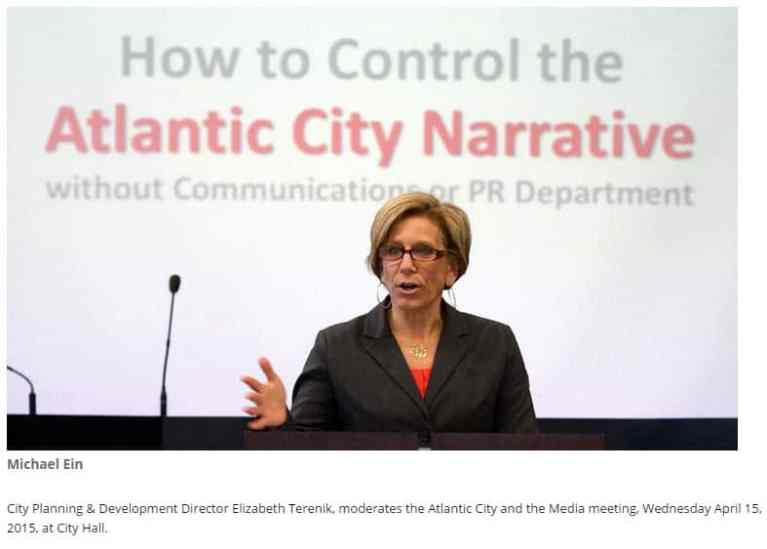 Why Atlantic City Must Tell It's Own Story.