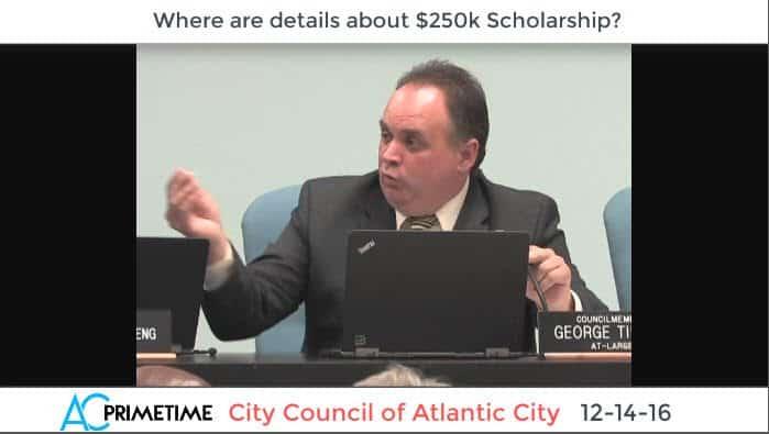 AC Councilman Calls Radio Show to Discuss $250k Scholarship Mess