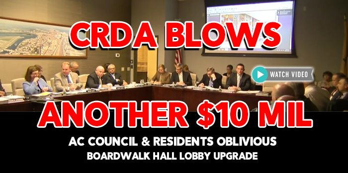 CRDA Says $10.5 Million Lobby Upgrade to Boardwalk Hall is Smart Investment. Really.