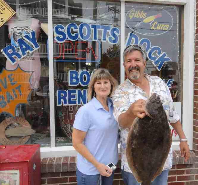 robin scott margate fluke flounder