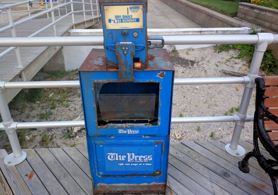 Atlantic City Newspaper Decline